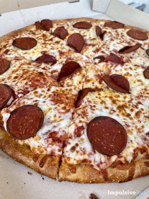 Little Caesars Planteroni Pizza Cheep