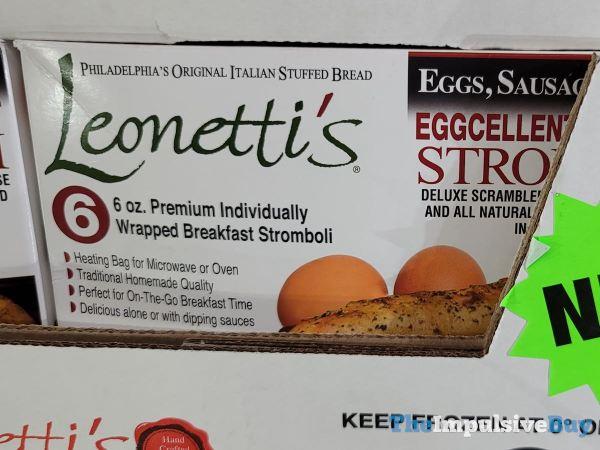 Leonetti s Eggcellent Breakfast Stromboli