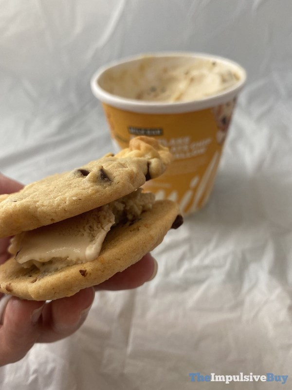 Milk Bar Cornflakes Ice Cream Spoon Sandwich