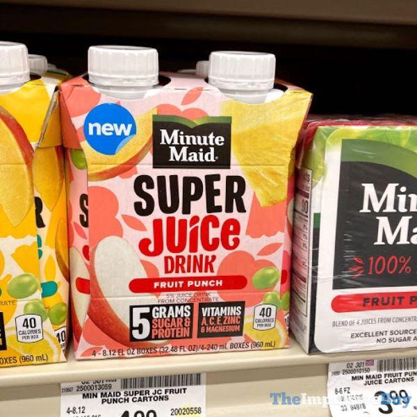 Minute Maid Fruit Punch Super Juice Drink