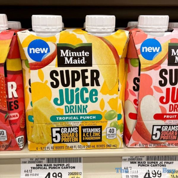 Minute Maid Tropical Punch Super Juice Drink