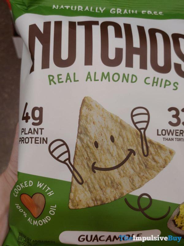 Nutchos Guacamole Almond Chips