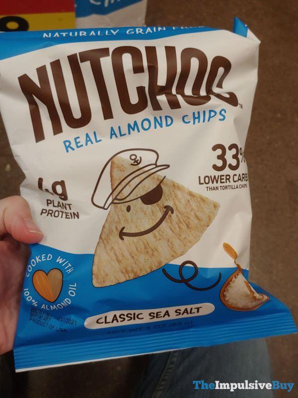Nutchos Classic Sea Salt Almond Chips