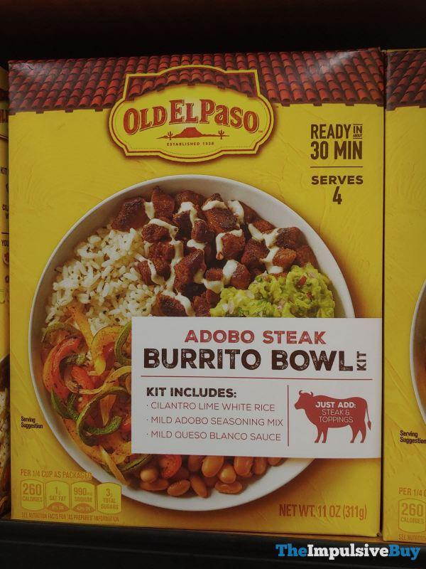 Old El Paso Adobo Steak Burrito Bowl Kit