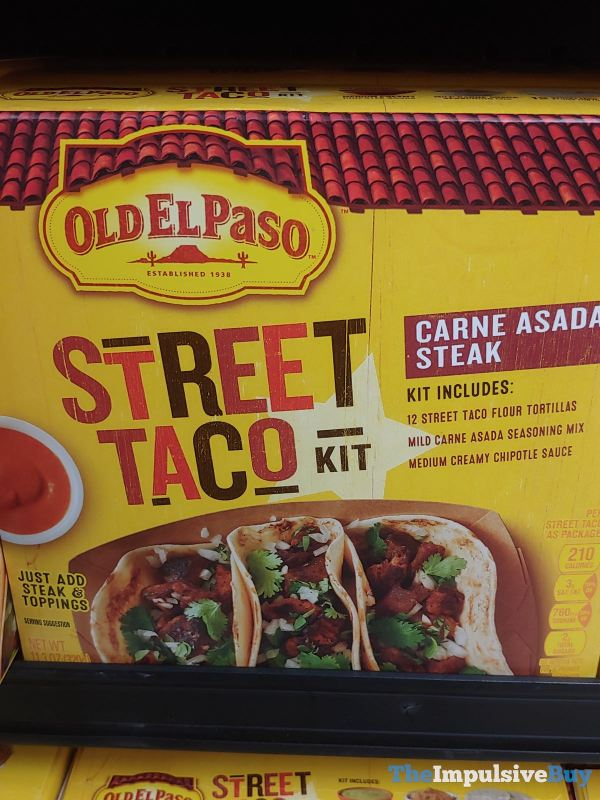 Old El Paso Carne Asada Steak Street Taco Kit