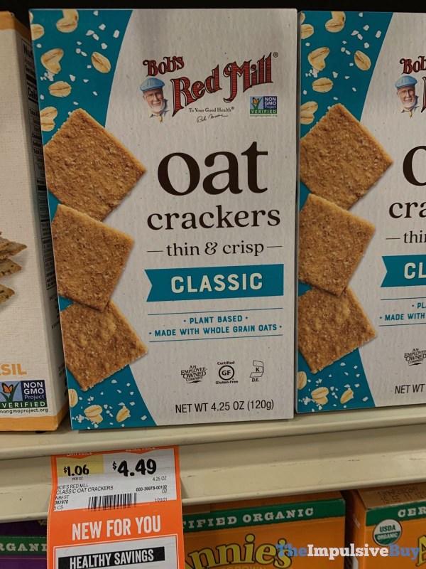 Bob s Red Mill Classic Oat Crackers