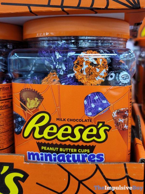 Reese s Peanut Butter Cups Miniatures Halloween 2021 Mix