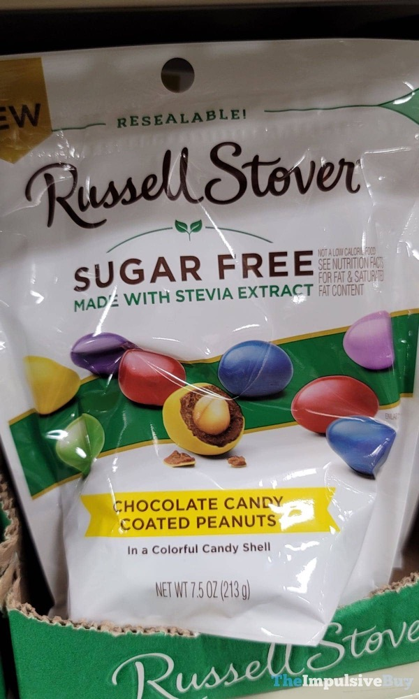 Russell Stover Sugar Free Chocolate Candy Coated Peanuts