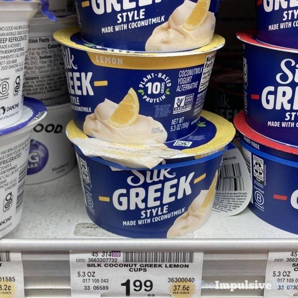 Silk Greek Style Lemon Yogurt Alternative