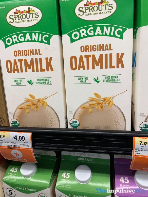 Sprouts Organic Original Oatmilk