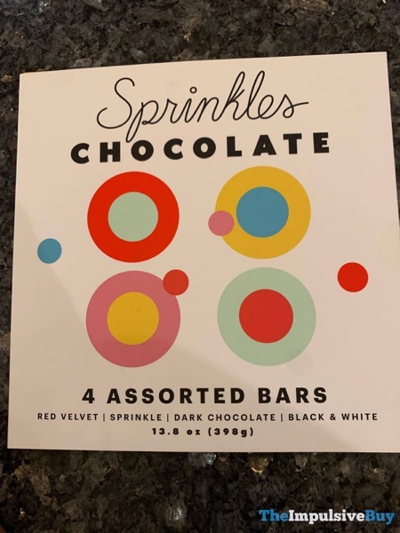 Sprinkles Chocolate Assorted Bars