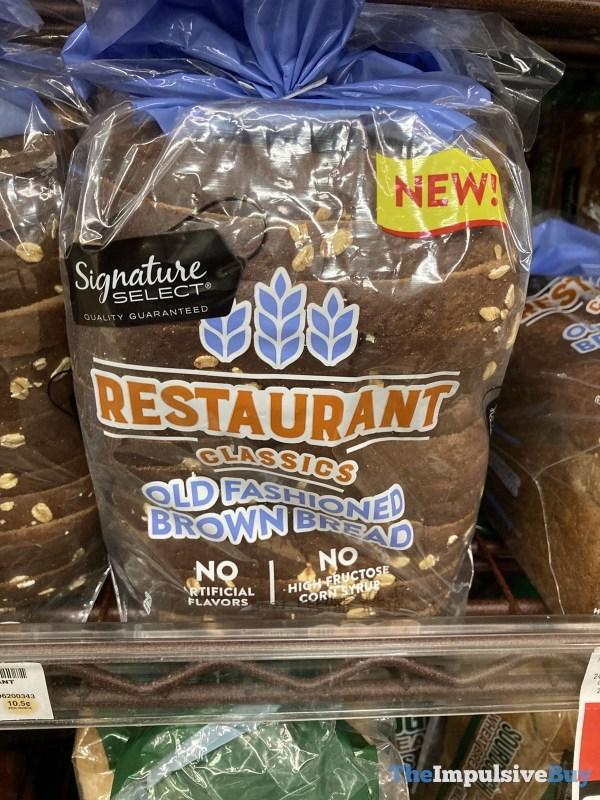 Signature Select Restaurant Classics Old Fashioned Brown Bread