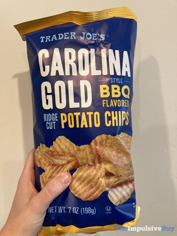 Trader Joe s Carolina Gold Style BBQ Flavored Potato Chips