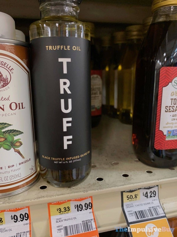 Truff Black Truffle Infused Olive Oil
