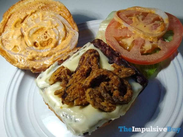 Wendy s Spicy Black Bean Burger Layers