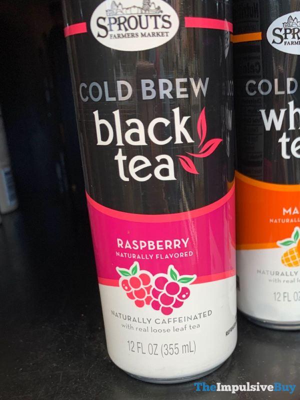 Sprouts Raspberry Cold Brew Black Tea