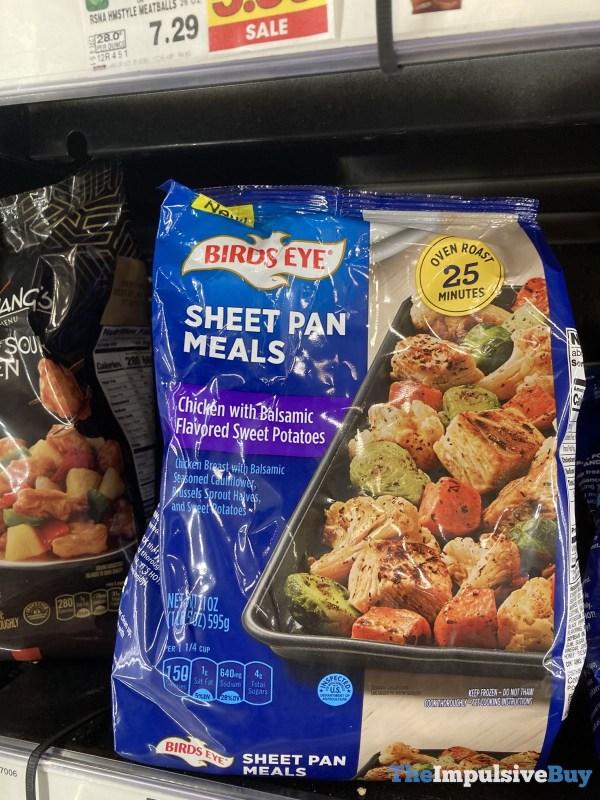 Birds Eye Sheet Pan Meals Chicken with Balsamic Flavored Sweet Potatoes