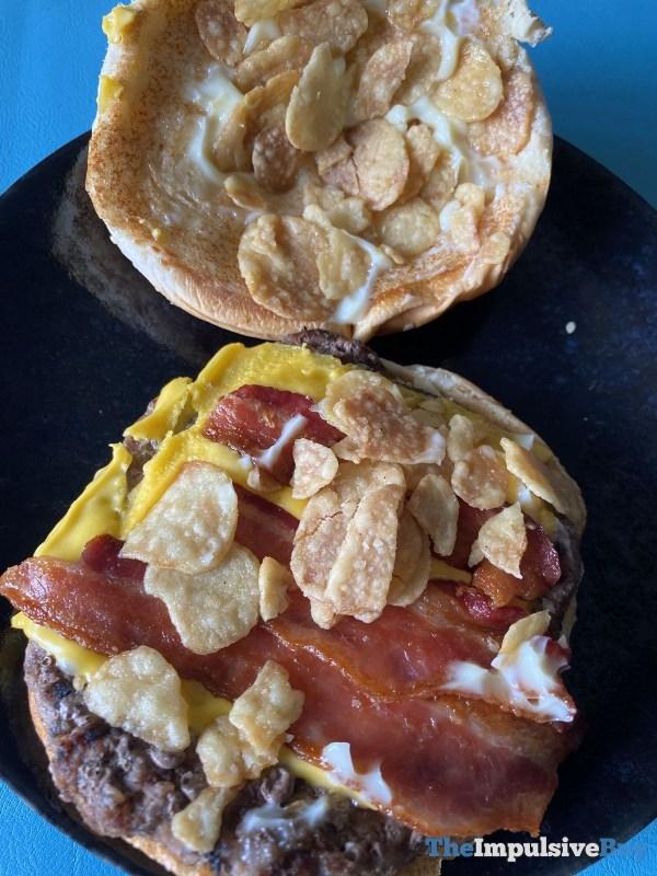 Burger King Garlic  Bacon King Gaaaarlic