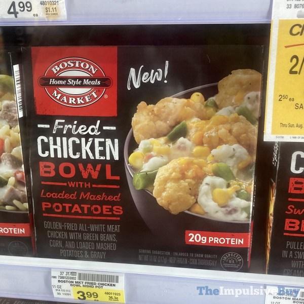 Boston Market Fried Chicken Bowl