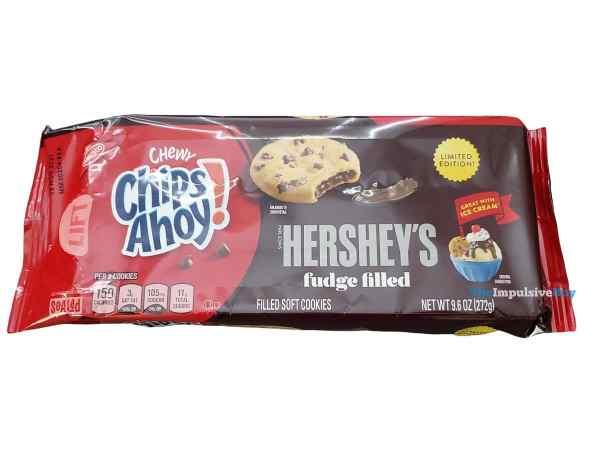 Chips Ahoy Hershey s Fudge Filled Cookies Package