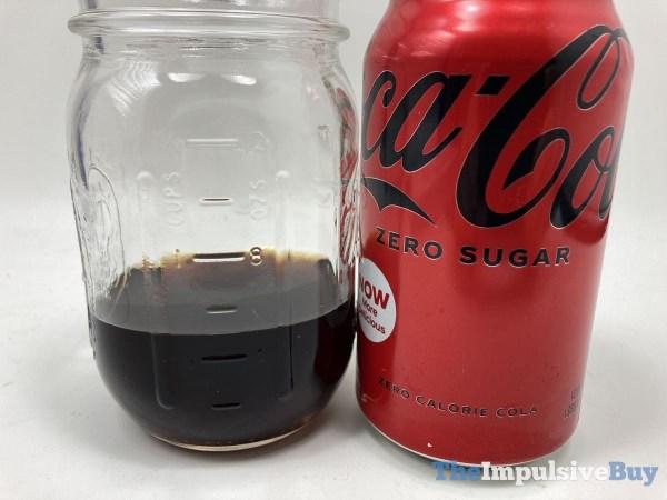 Coca Cola Zero Sugar  2021 Glass