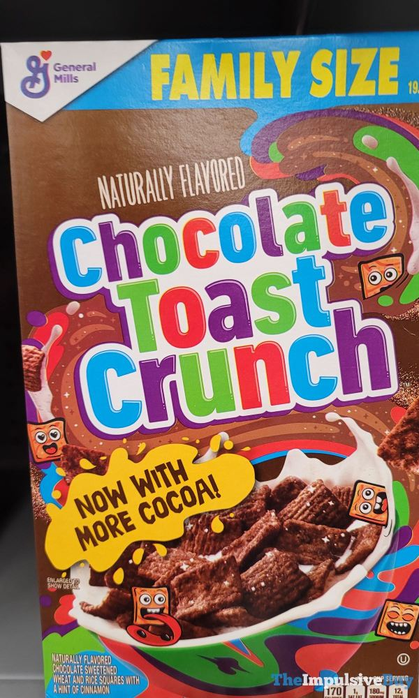 Chocolate Toast Crunch Now With More Cocoa