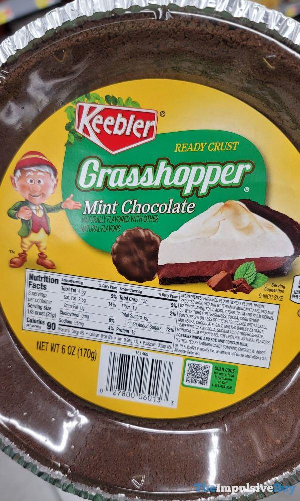 Keebler Grasshopper Mint Chocolate Ready Crust