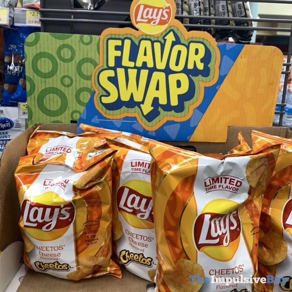 Lay s Flavor Swap Cheetos Cheese Potato Chips