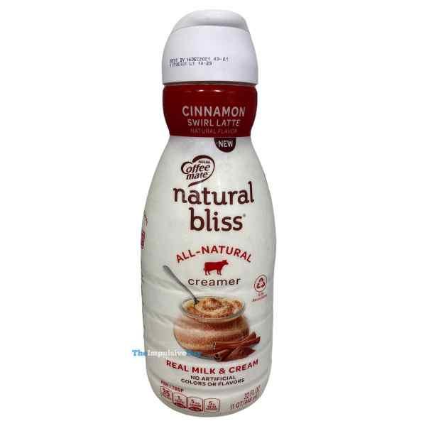 Nestle Coffee mate Natural Bliss Cinnamon Swirl Latte