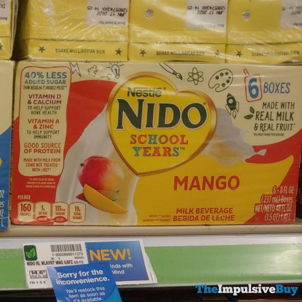 Nestle Nido Mango Milk Beverage Boxes