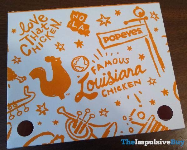 Popeyes Chicken Nuggets Box