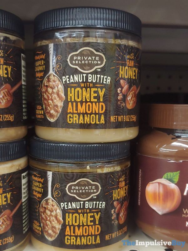 Private Selection Peanut Butter with Honey Almond Granola