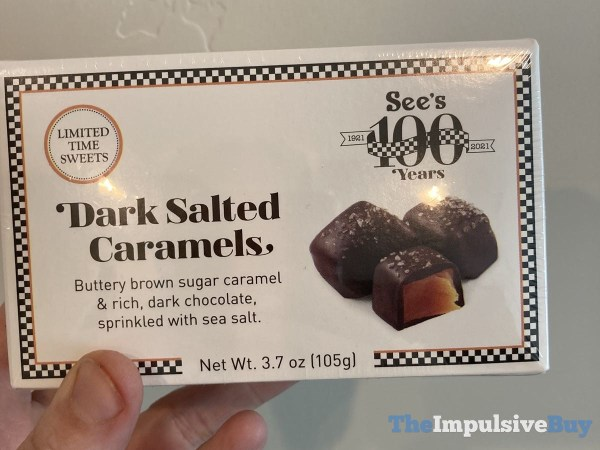 See s Limited Time Sweets Dark Salted Caramels