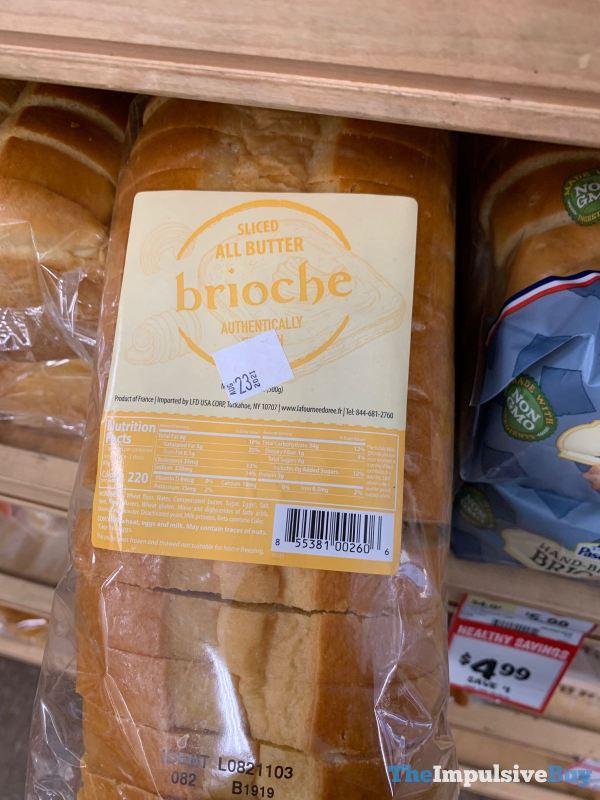 Sprouts Sliced All Butter Brioche