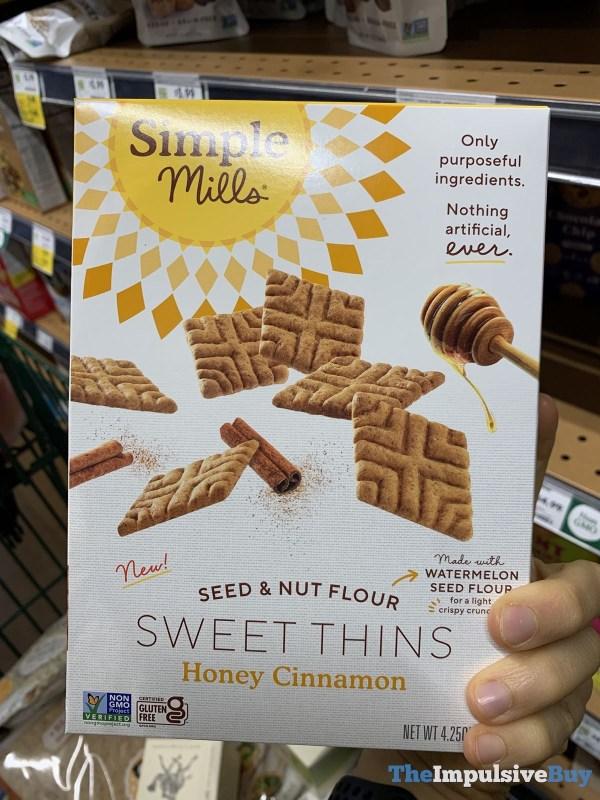 Simple Mills Seed  Nut Sweet Thins Honey Cinnamon