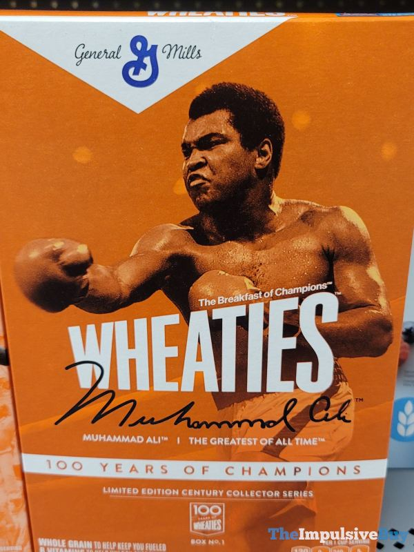 Limited Edition Century Collector Series Wheaties 100 Years of Champions Muhammad Ali Box