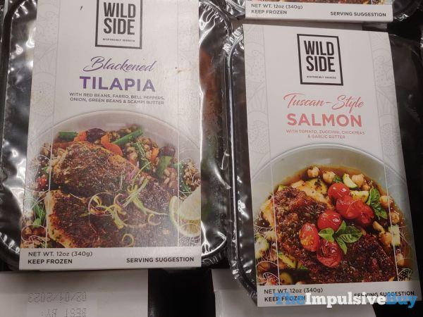 Wild Side Blackened Tilapia and Tuscan Style Salmon