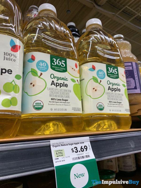 365 Whole Foods Market Organic Reduced Sugar Apple Juice