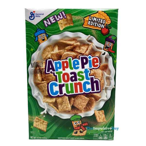 Apple Pie Toast Crunch Cereal Box