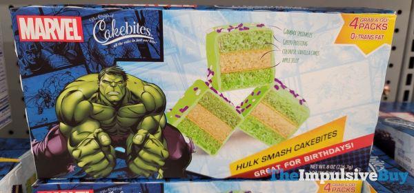 The Original Cake Bites Marvel Hulk Smash Cakebites