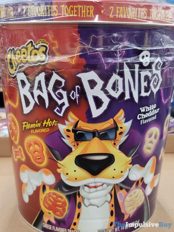 Cheetos Bag of Bones Tin Design