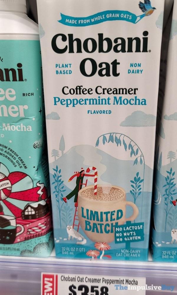 Limited Batch Chobani Oat Coffee Creamer Peppermint Mocha