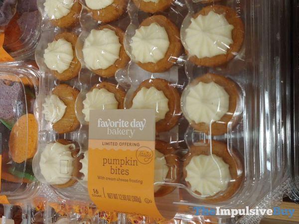 Favorite Day Bakery Limited Offering Pumpkin Bites