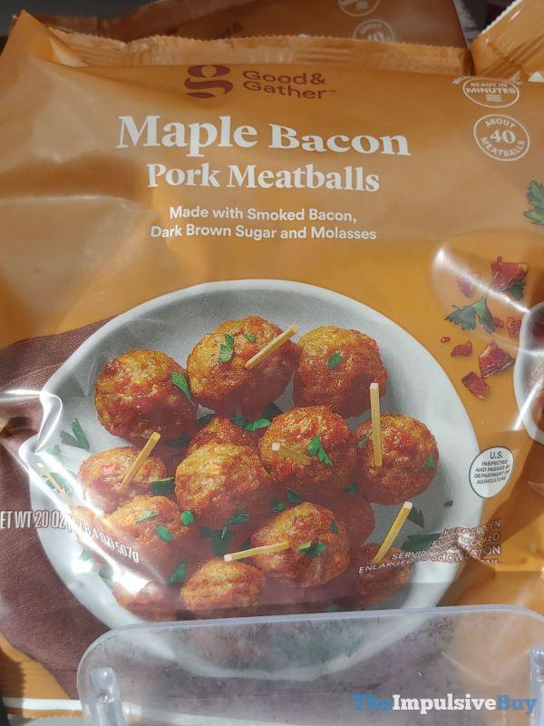 Good  Gather Maple Bacon Pork Meatballs