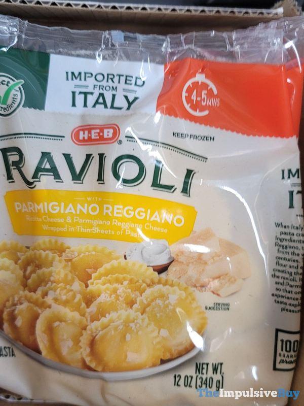 H E B Parmigiano Reggiano Ravioli