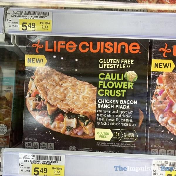 Life Cuisine Cauliflower Crust Chicken Bacon Ranch Piada