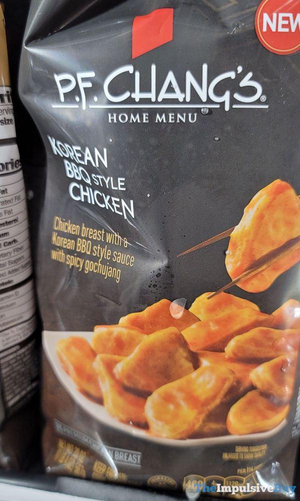 P F Chang s Home Menu Korean BBQ Style Chicken