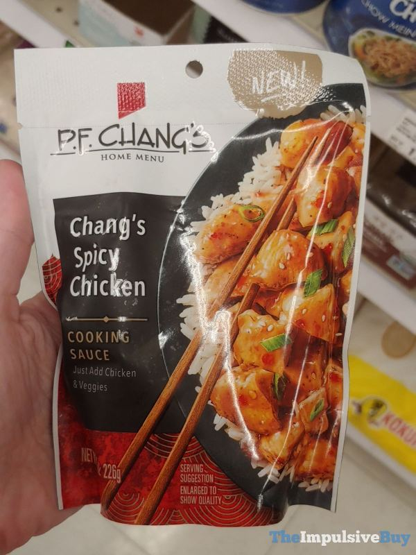 P F Chang s Home Menu Chang s Spicy Chicken Cooking Sauce