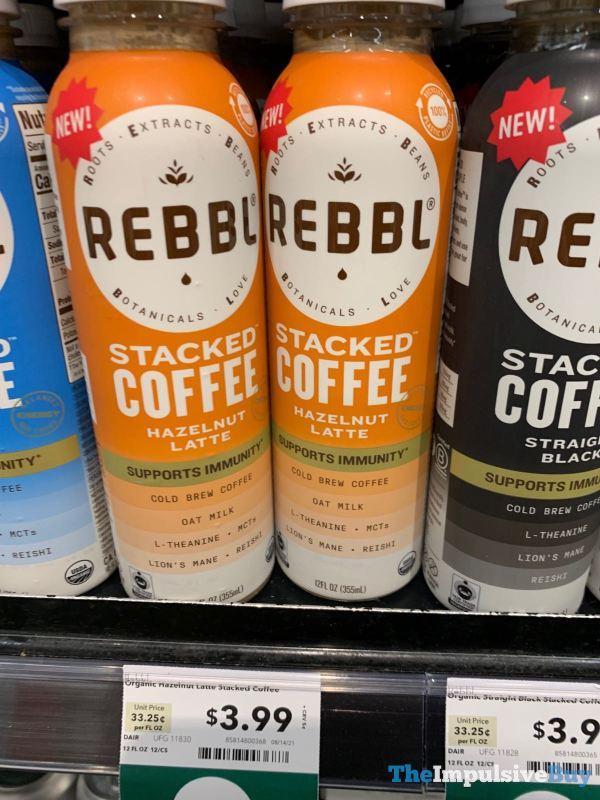 Rebbl Hazenut Latte Stacked Coffee