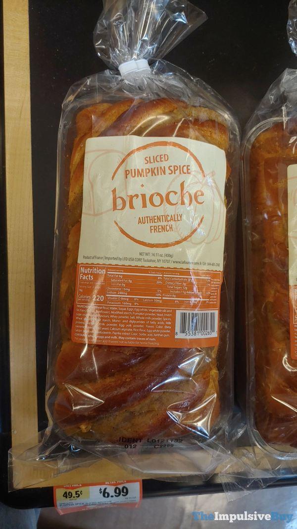 Sprouts Sliced Pumpkin Spice Brioche